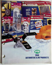 1988 Valley Automotive RV Products Catalog-Oil Coolers-Fan Clutch's-Trailer Ball