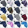 MENS PATTERNED TIE striped lines stripes business necktie neck CHOOSE DESIGN