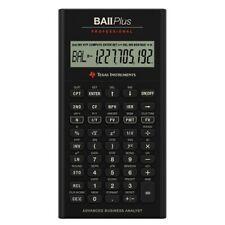Texas Instruments IIBAPRO/CLM/4L1/A BA II Plus Professional Financial Calculator