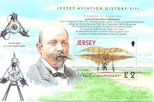 Jersey-aviation history-special foglio (EX libretto) Early Volo MNH