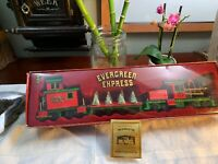 Vintage 1986 Christmas MUSIC Box Train SET Rare Pristine Shape Holiday Display