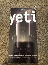 *NEW* Blue Yeti Blackout Ultimate USB Microphone For Professional Recording