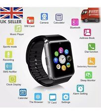 2019 GT08 Bluetooth Smart Watch Camera For Android iOS GSM GPRS SIM TF Card Slot
