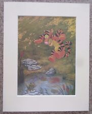 "Disney Tigger from Winnie the Pooh Collection Mounted 11"" x 14"" Art Print"