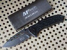MTech Einhandmesser in stonewashed Optik - 440er Stahl - tolle Qualität - Neu !!
