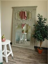 Großer Wandspiegel STELLA Grau Barock Shabby Chic Impressionen MiaVilla NEU