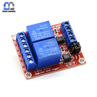 2-Channel 12V Relay Module Optocoupler High and Low Level Trigger F Arduino Top