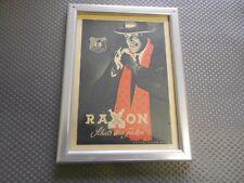 Raxon vecchia pubblicità con loghi in cornici (353)