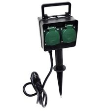 Brennenstuhl Gartensteckdose mit Erdspieß IP44 4-fach 1,4m H07RN-F 3G1,5 1154440
