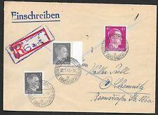 German Reich covers 1945 R-cover Deutsche Dienstpost Niederlande/AMERSFOORT
