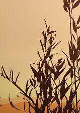 "Jim Boutwell ""Hinterlands I"" Hand Signed Fine Art Serigraph of leaves Make Offer"
