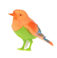 Plastic Sound Voice Control Activate Chirping Singing Bird Funny Toy Gift@cev