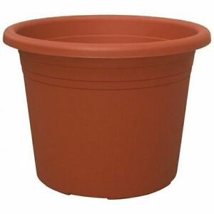 Blooming Weather Cylindro Plant Pot 35cm - Terracotta - Pack of 5