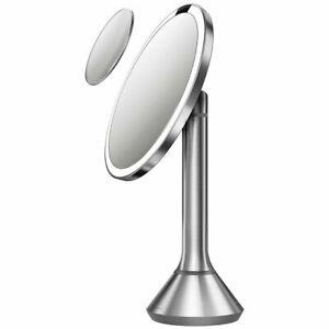 Simple Human LED Light Sensor Cosmetic Mirror ST3200 5 X Magnification Brand New