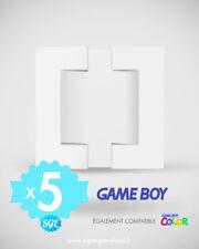 5 CALES TRAY INSERT INLAY NINTENDO GAME BOY GAME BOY COLOR GB GBC NEUVES