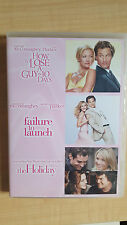 How To Lose A guy In 10 Days / Failure To Launch / The Holiday 3 DVDSet LIKE NEW