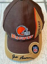 Jim Brown Signed Cleveland Browns PUMA NFL Pro Line Adjustable Leather Cap Hat