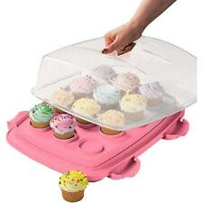 MisterChef® Large 3 in 1 Multi Use Cupcake & Cake Carrier Storage Box Container