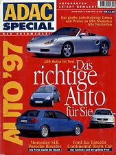 Autokatalog ADAC Special Autotest 1997 Wiesmann Asia TVR Rover Volvo Kia BMW u.a
