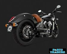 Vance And Hines Exhaust Hi Output Grenades Black Indian Scout 2015 2016