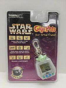 NEW Star Wars YODA Giga Pet Tiger Electronics Tamagotchi 1997