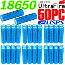 Lot Ultrafire 18650 Battery 3.7V Li-ion Rechargeable Batteries for LED Torch USA