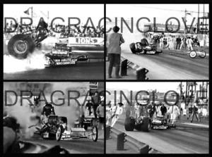 "Don ""Big Daddy"" Garlits 1970 ""SlingShot"" Top Fuel Dragster ""BLOW"" PHOTO! #(6)"