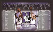Northwestern Wildcats--2008-09 Basketball Magnet Schedule