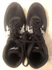Asics Matflex 2 Mens Wrestling Shoes Size 11 Black Gray White J902Y (Worn 1X)
