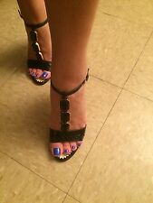 Prada Gourgeous Evening Shoes Size 38