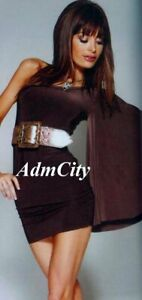 Mix And Mingle In This Flirty Fun Shindig Evening Dress Brown S