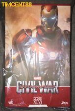 Hot Toys PPS003 Iron Man Captain America Civil War 3 Mark 46 XLVI Power Pose New