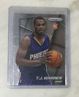 Indiana Pacers T.J. WARREN Panini PRIZM Silver RC Rookie Card 2014-15 Suns