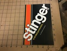 High Grade BOAT brochure: 1973 STINGER 2 - JOHNSON OUTBOARDS - 4pgs