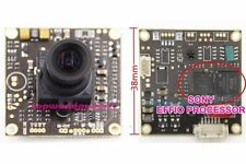 "700TVL 1/3""SONY Effio-E CCD 3.6mm Lens CCTV Security Camera Board PCB OSD CABLE8"