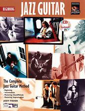 "THE COMPLETE JAZZ GUITAR METHOD ""BEGINNING JAZZ GUITAR"" MUSIC BOOK/CD-NEW-SALE!!"