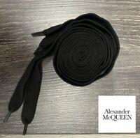 Alexander Mcqueen style cotton Laces, Black, 1st Generation