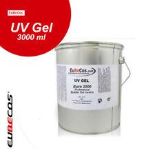 Einphasengel Professional Builder Gel medium Euro 2000 3 Liter UV Gel 3000 ml