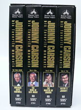 JOHNNY CARSON Collection His Favorite Moments VHS Collection The Tonight Show