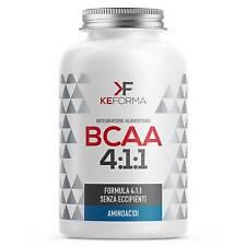 KeForma BCAA 4:1:1 140cps Aminoacidi Ramificati di Alta Qualità