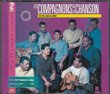 RARE COFFRET 2 CD 31T LES COMPAGNONS DE LA CHANSON SI TU VAS A RIO BEST OF 1989