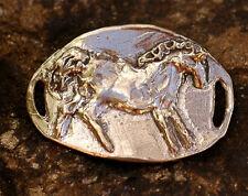 Artisan Horse Bracelet Link in Sterling Silver