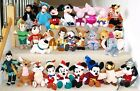 Collectable Exclusive USA DISNEY BEANIES Soft Nana Toga Minnie Mulan Brer South