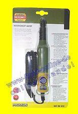 PROXXON 28512 Bohr- und Fräsgerät MICROMOT 50/EF mit Bohrfutter Drehzahlreglung