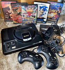 Sega Mega Drive Konsole + 5 Spiele + 2x Controller