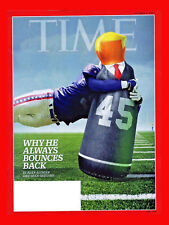 TIME Magazine~AFTER THE STORM + TRUMP ATTACK ON NFL + SWISS DRONES~Oct. 9, 2017