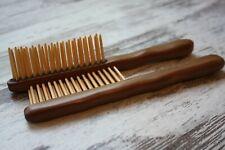 Wooden Hair brush - wood hairbrush - wood comb - hair fork