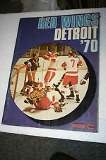 1969-70 DETROIT RED WINGS SPORTS MAGAZINE- FROM THE FORUM- EXTREMELY RARE!