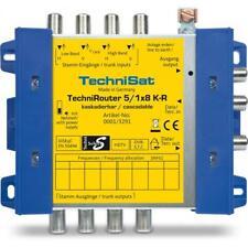 TechniSat TechniRouter 5/1x8 K-R (Kaskade, Digitale Einkabellösung) 0001/3291