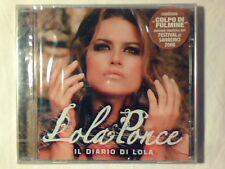 LOLA PONCE Il diario di Lola cd GIO' DI TONNO SIGILLATO SEALED!!!